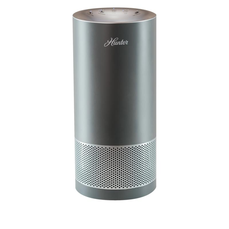 Hunter Tower Air Purifier with EcoSilver and True HEPA Filter