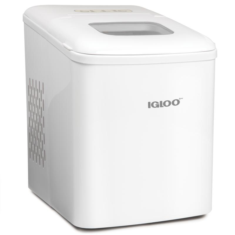 Igloo 26lb. Self-Cleaning Portable Countertop Ice Machine - White