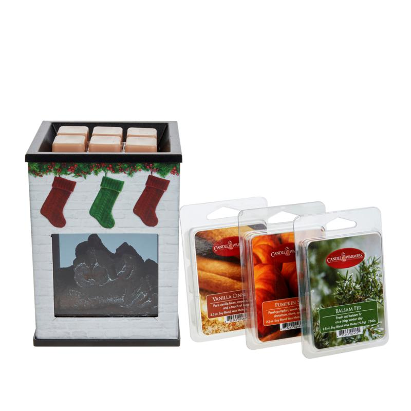 Illumination Fragrance Warmers with 3 Wax Melts