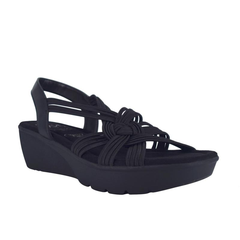 Impo Esselyn Stretch Sandal with Memory Foam