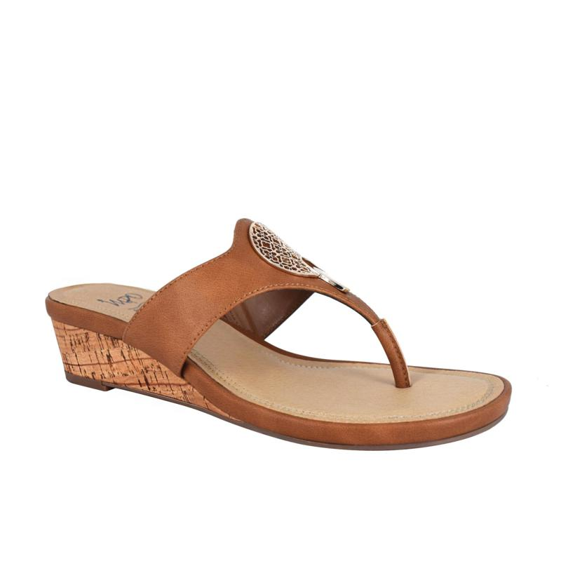 Impo Ronella Thong Sandal with Memory Foam