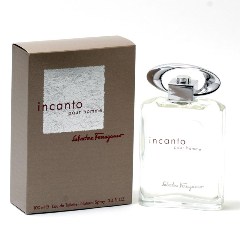 Incanto Pour Homme by Salvatore Ferragamo EDT Spray 3.4 oz.