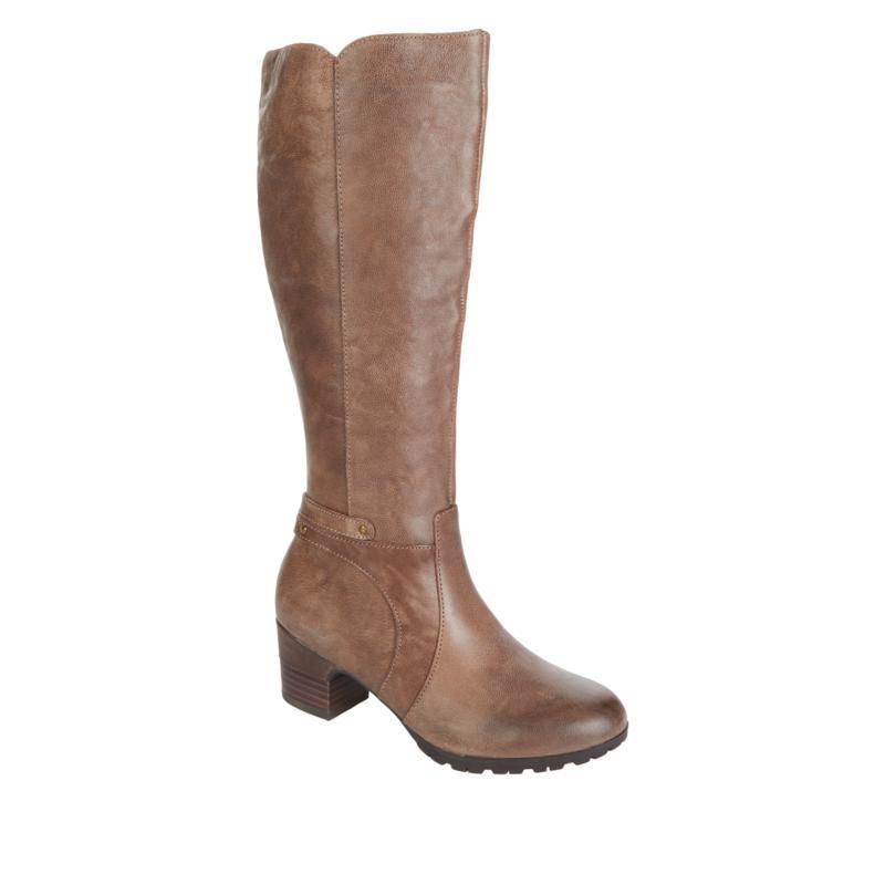 Jambu Originals Chai Tall Leather Riding Boot - Regular Calf