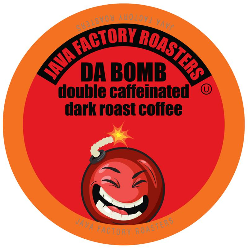 Java Factory Coffee Pods for Keurig Da Bomb XtraBold Double Caf 80-pk