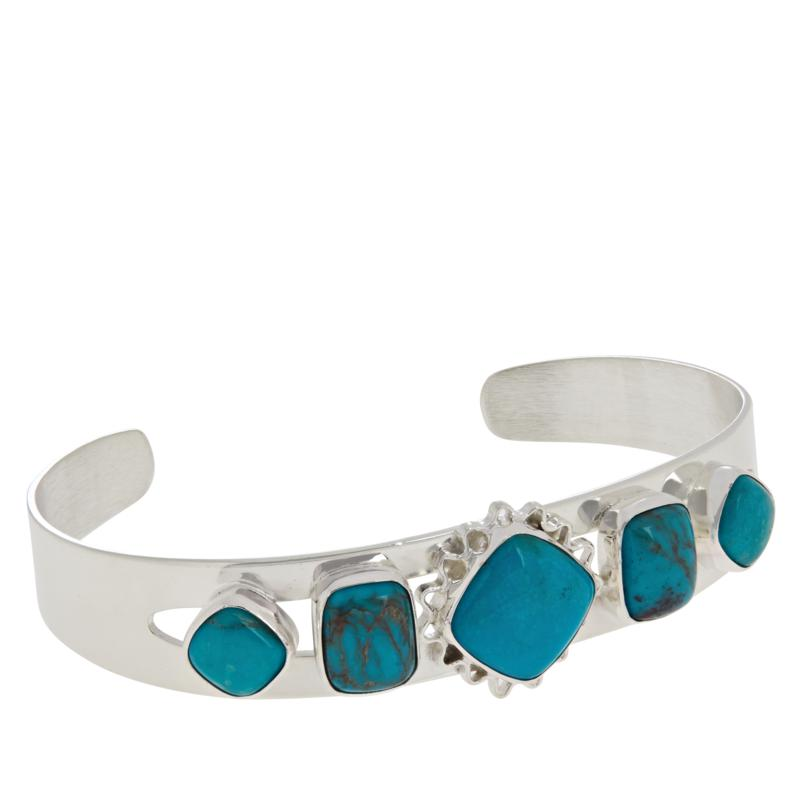 Jay King Gallery Collection Angel Peal Turquoise Cuff Bracelet