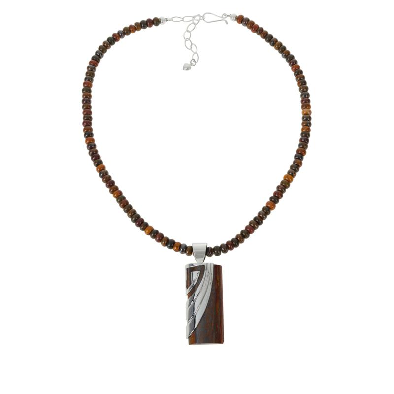 Jay King Gallery Collection Brockman Jasper Pendant with Necklace