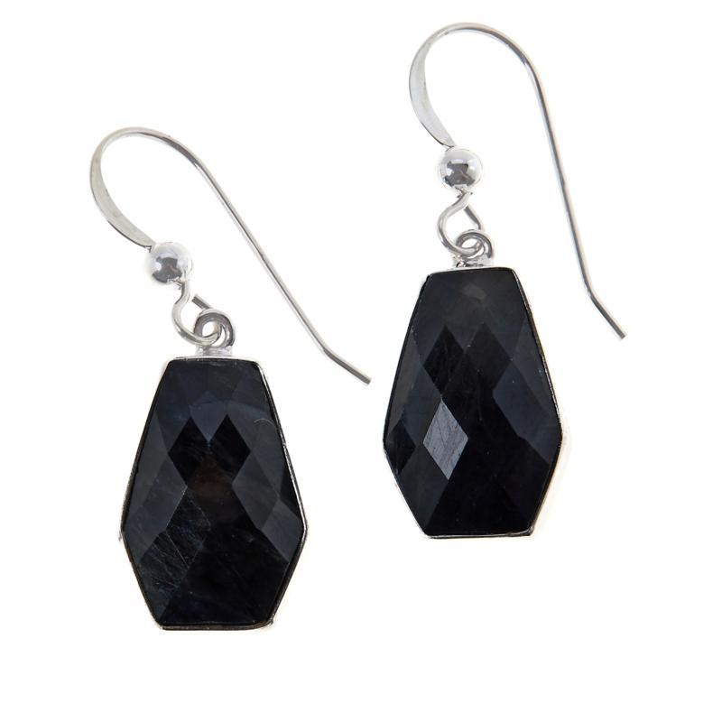 Jay King Sterling Silver Sapphire Drop Earrings