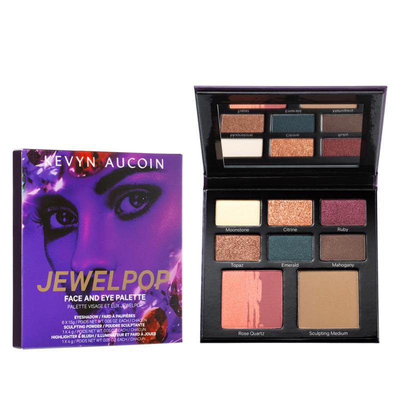 Kevyn Aucoin Jewelpop Face & Eye Palette