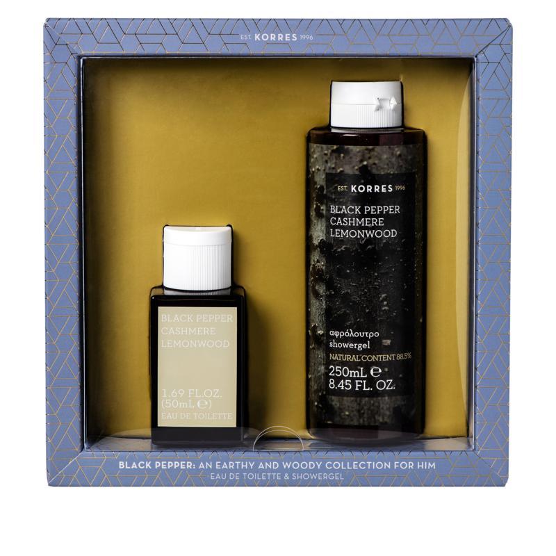 Korres Black Pepper Cashmere 2-piece Fragrance Set