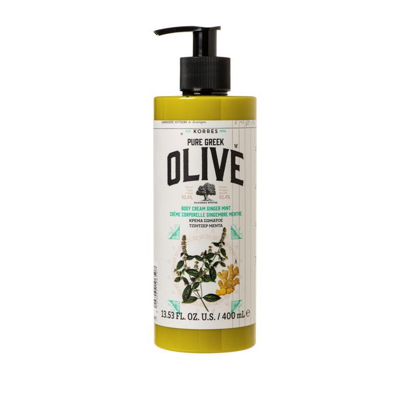 Korres Olive & Ginger Mint Jumbo Size Body Cream