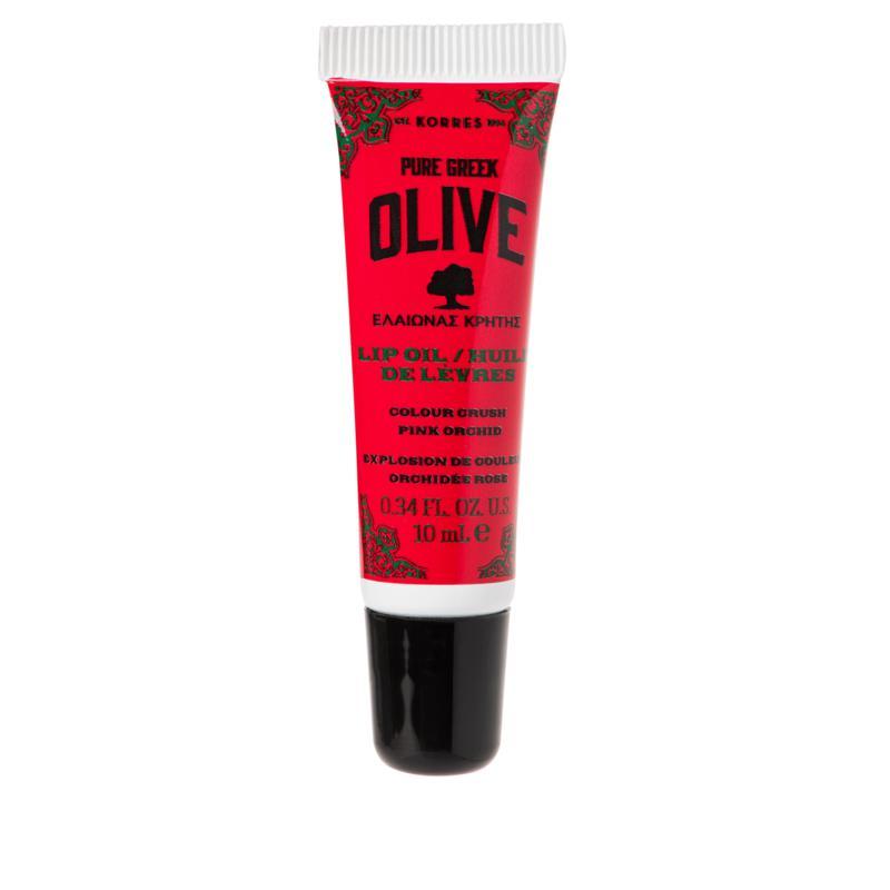Korres Olive Oil Color Crush Pink Orchid Lip Oil