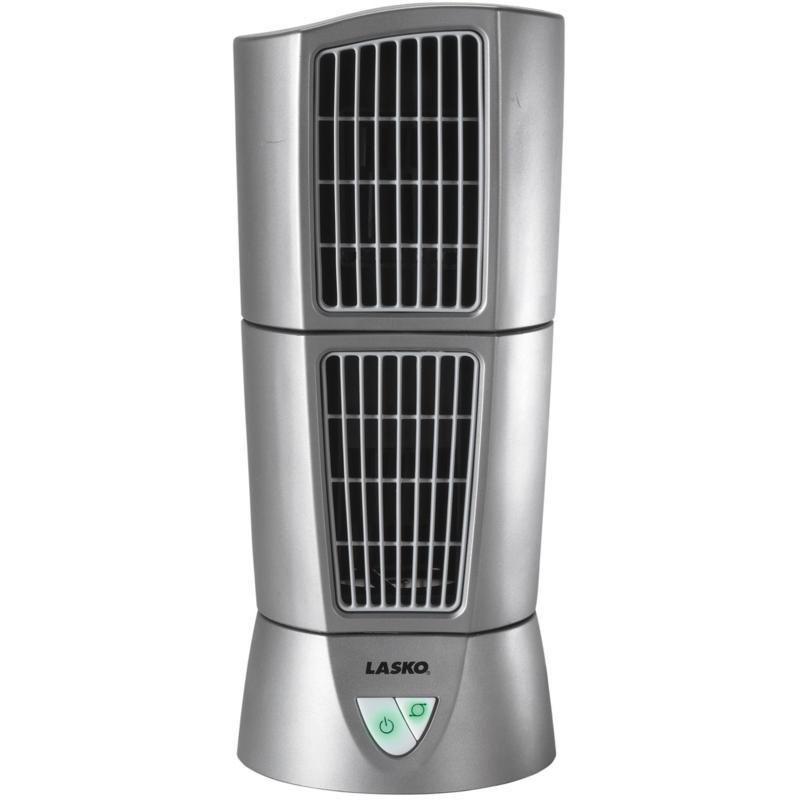 """Lasko 14"""" Platinum Desktop Wind Tower Fan"""