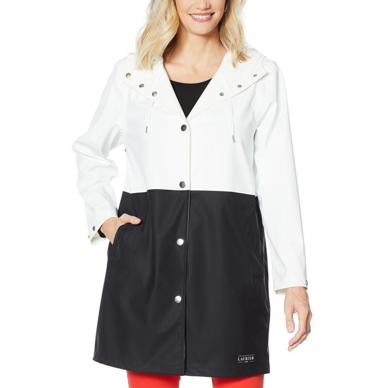 Laurier Colorblock Waterproof Raincoat