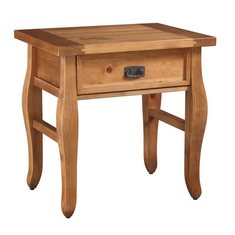 Linon Home Phoenix End Table - Brown