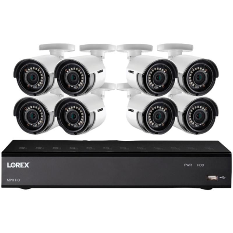Lorex Full HD 8-Channel Security System w/1TB DVR & 8 HD Cameras