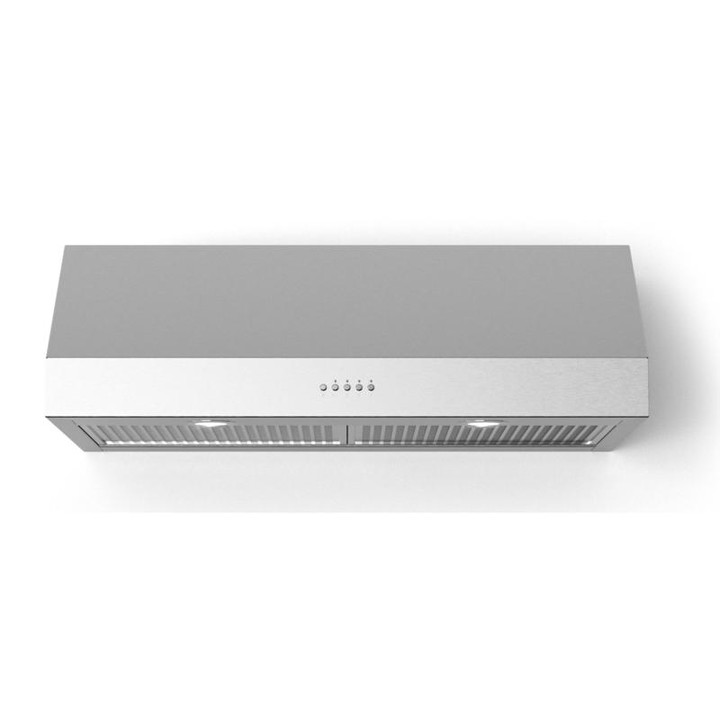 """Lucca 24"""" Stainless Steel Under Cabinet Range Hood with LED Lighting"""