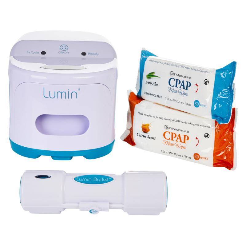 Lumin Bullet Hose Cleaner & Mask Sanitizer