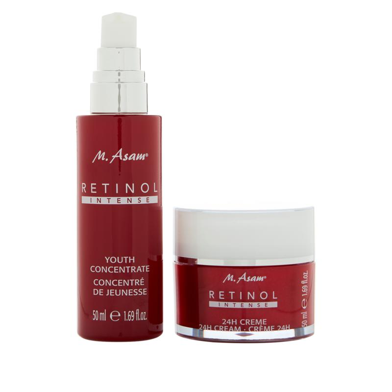 M. Asam Retinol Intense 24HR Cream and Concentrate 2-piece Kit
