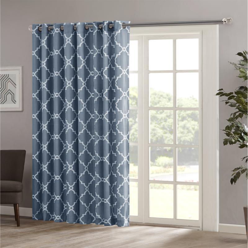 Patio Window Curtain 84 Panel Blue, Patio Panel Curtains