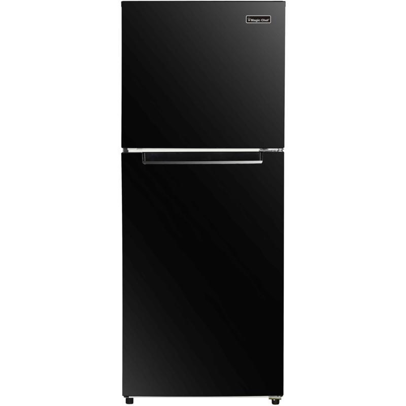 Magic Chef Black 10.1-Cu. Ft. Refrigerator with Top-Mount Freezer