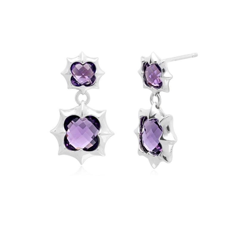 Margo Manhattan Zoey Sterling Silver Drop Earrings