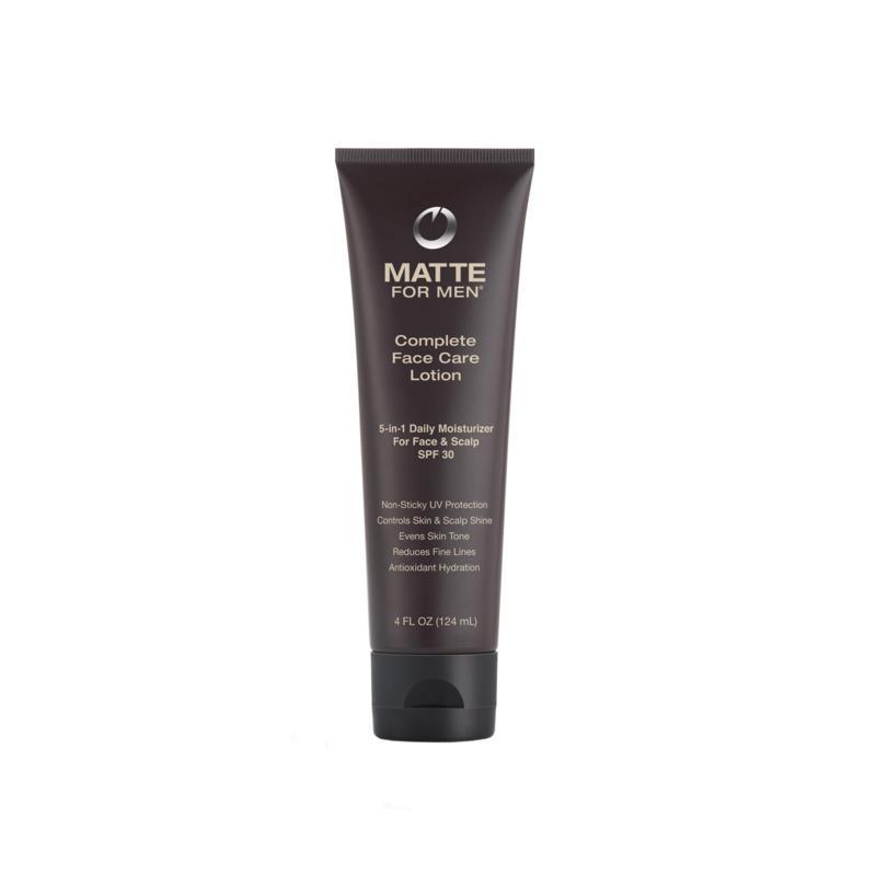 Matte For Men Complete Face Care Lotion SPF 30 4 oz.