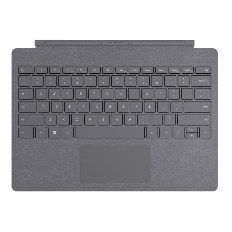 Microsoft Surface Pro Signature Type Cover and Keyboard in Charcoal