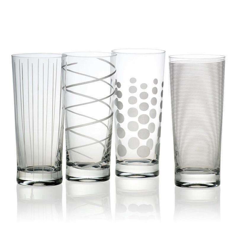 Mikasa Cheers Set of 4 Highball Glasses - 19.75 oz.