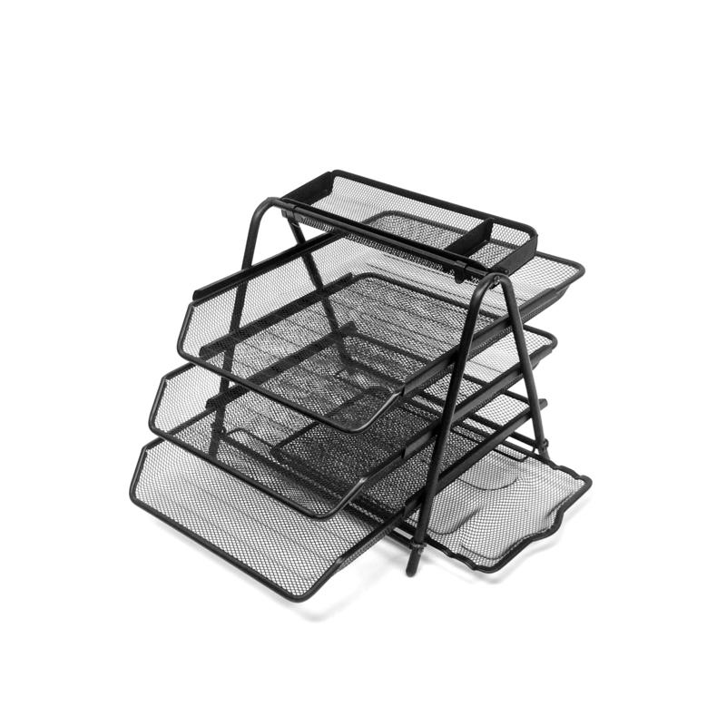 Mind Reader Desktop Tray Organizer with Pull Out Drawer Organizer
