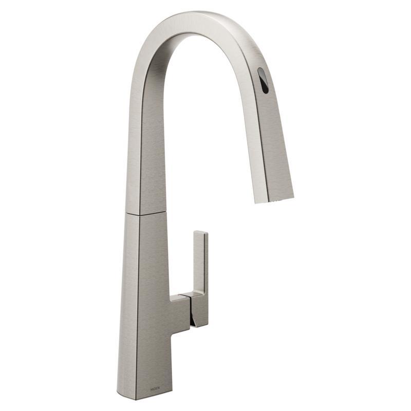 MOEN Nio U S75005EVSRS Smart Faucet Spot Resistant Stainless