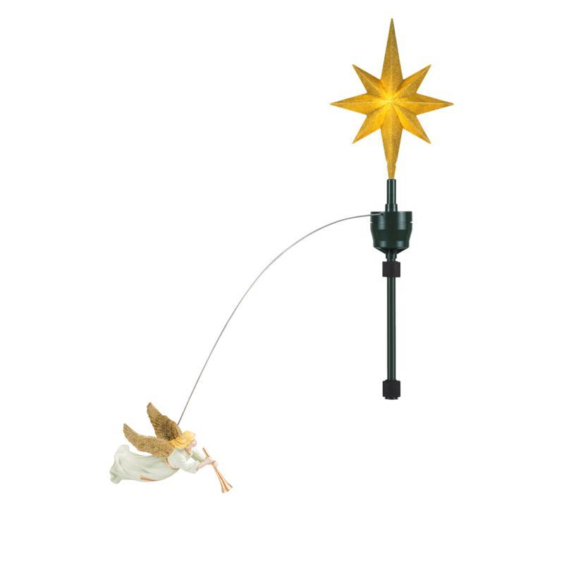Mr. Christmas Animated Angel Tree Topper