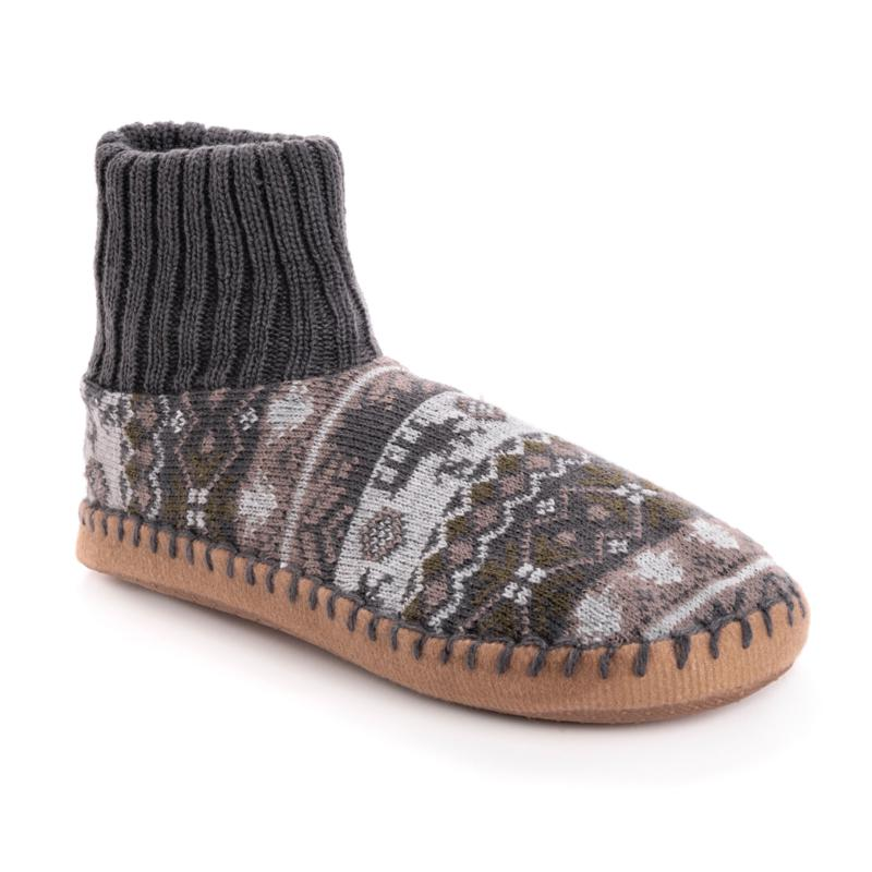 MUK LUKS® Men's Cuff Slipper Bootie