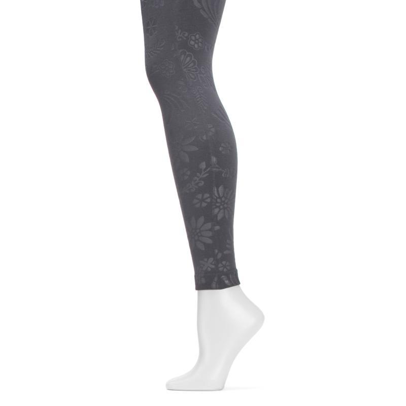 MUK LUKS Women's Embossed Fleece-Lined Legging
