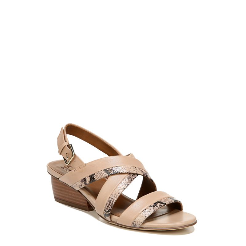 Naturalizer Cecilia Leather Wedge Sandal