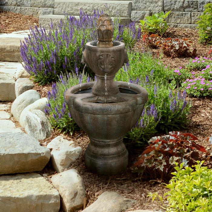 Navarro Lion Head Fountain
