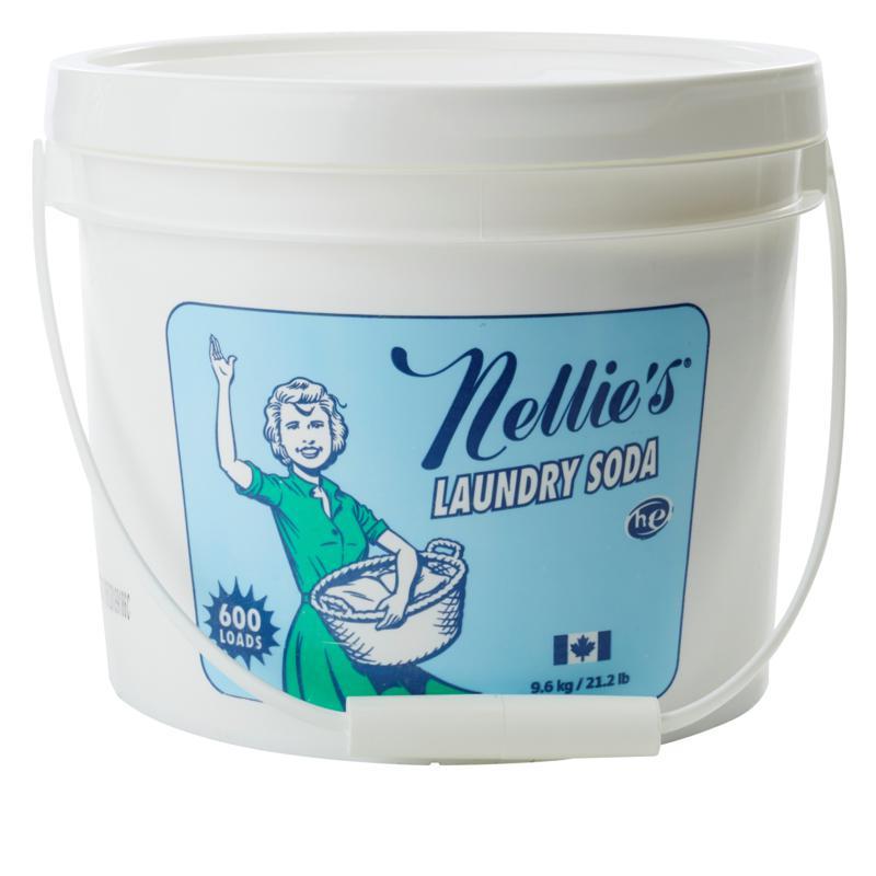 Nellie's All-Natural Laundry Soda 600-Load Bucket Auto-Ship®