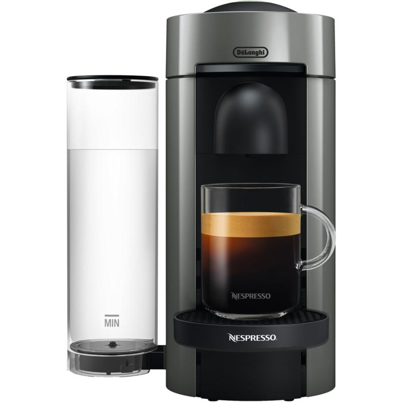 Nespresso VertuoPlus Gray Single-Serve Coffee Espresso  Machine