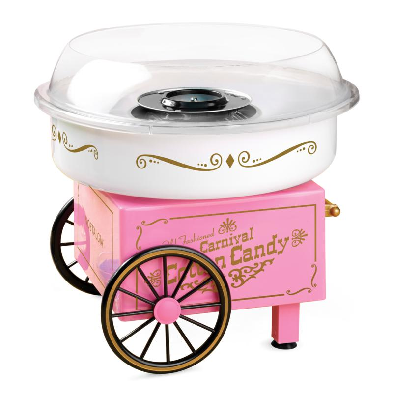 Nostalgia Vintage Hard & Sugar-Free Cotton Candy Maker