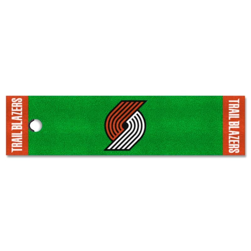 Officially Licensed NBA Putting Green Mat  - Portland Trail Blazers
