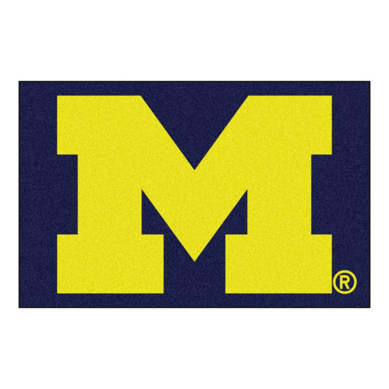 Officially Licensed NCAA Rug - University of Michigan