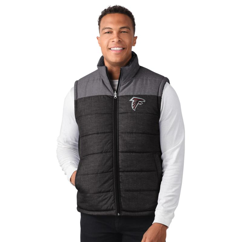 Officially Licensed NFL Men's Max Reversible Vest by Glll