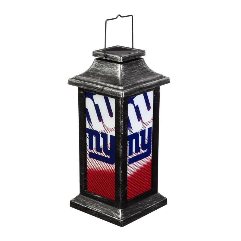 Officially Licensed NFL Solar Garden Lantern - New York Giants