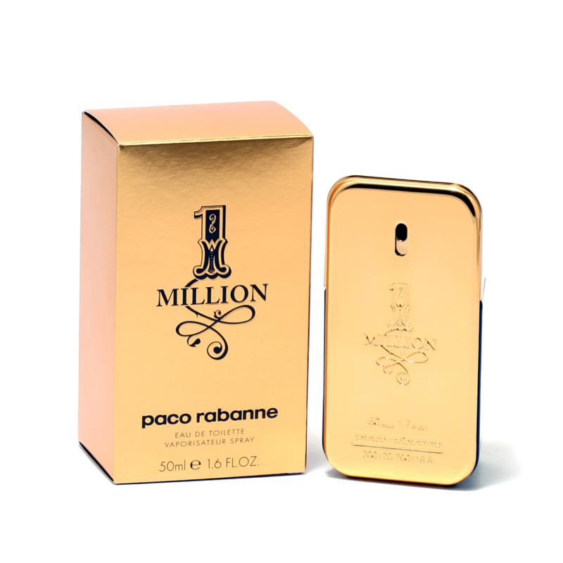 One Million Men By Paco Rabanne 1.7 oz. Eau De Toilette Spray