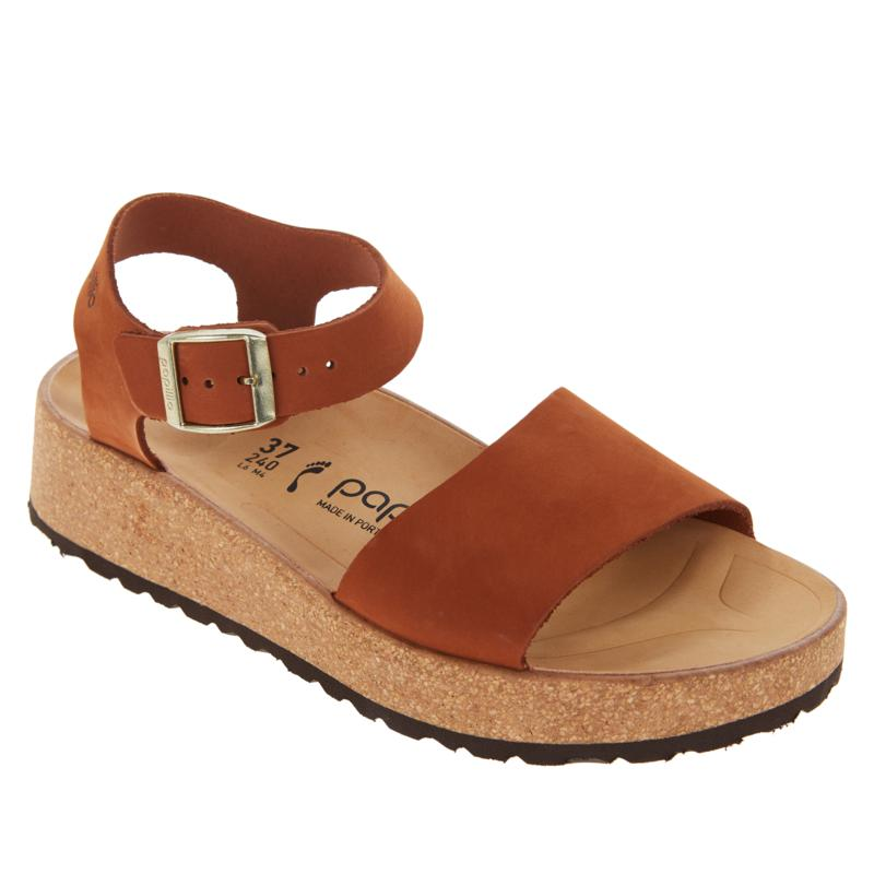 Papillio by Birkenstock Glenda Leather Wedge Sandal