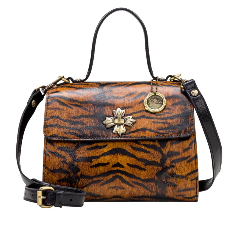 Patricia Nash Ellora Leather Multi-Compartment Bag