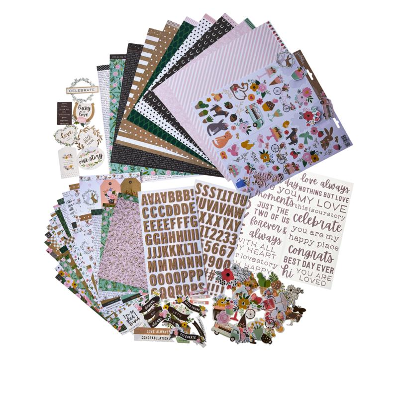 Pebbles Lovely Moments Scrapbooking Kit