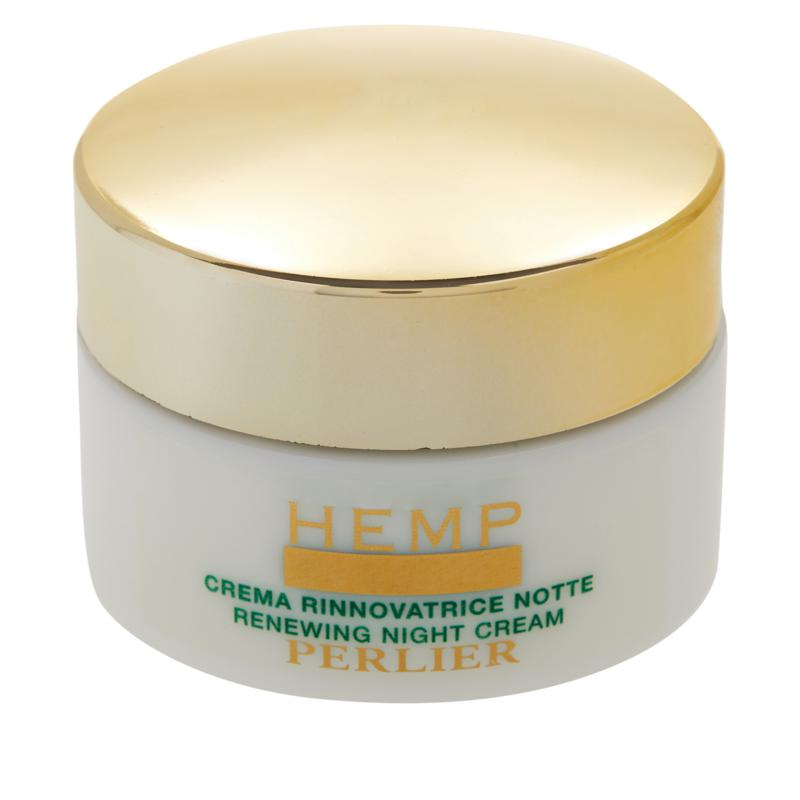 Perlier Hemp with Hydrozone Night Cream - 9525844   HSN