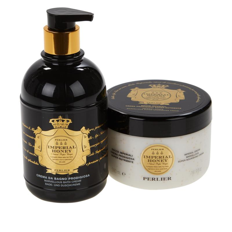 Perlier Imperial Honey Shower and Body 2-Piece Set