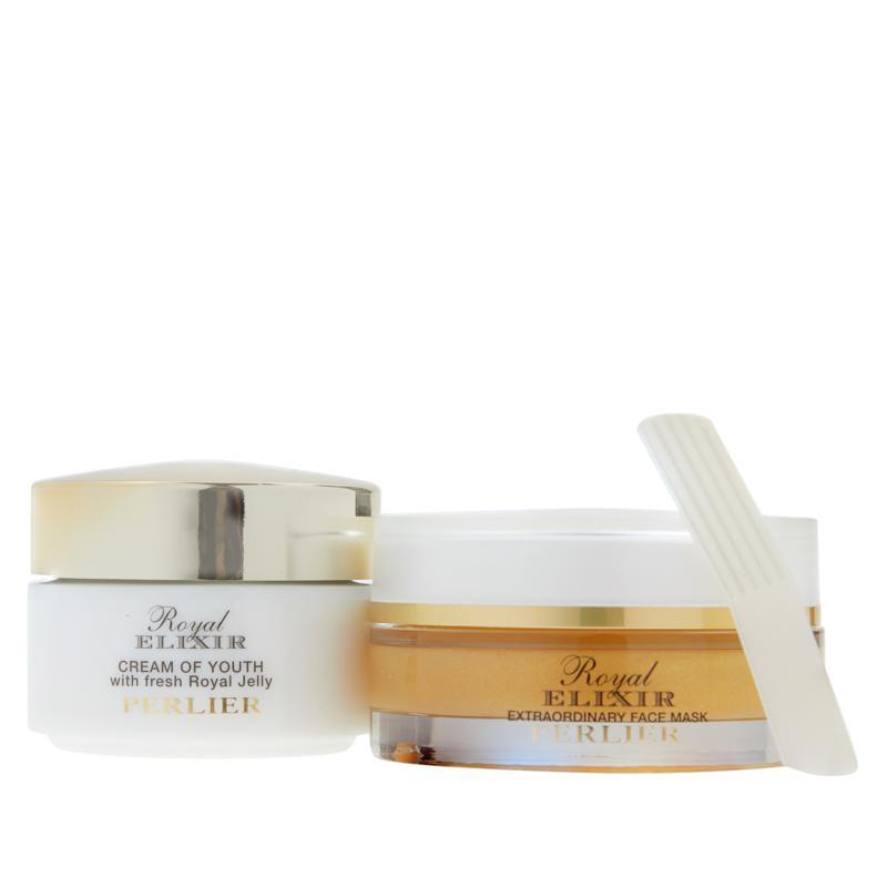 Perlier Royal Elixir Face Cream & Mask 2-piece Set