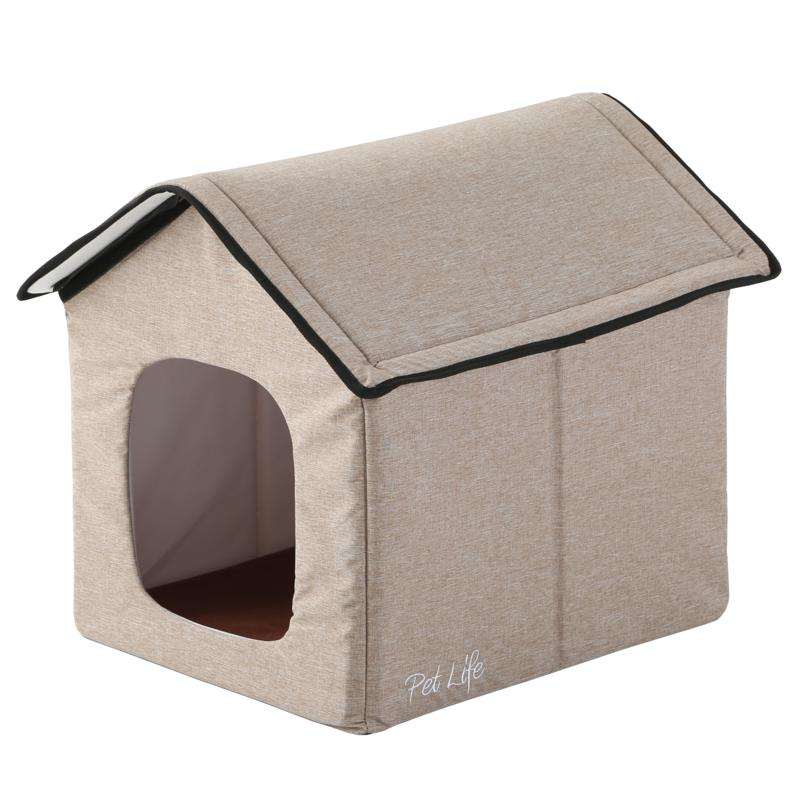 Pet Life Hush Puppy Electric Heating & Cooling Collapsible Pet House